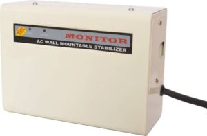 Monitor 4-KVA Wall Mountable Voltage Stabilizer For 1.5 Ton AC (100% Copper)